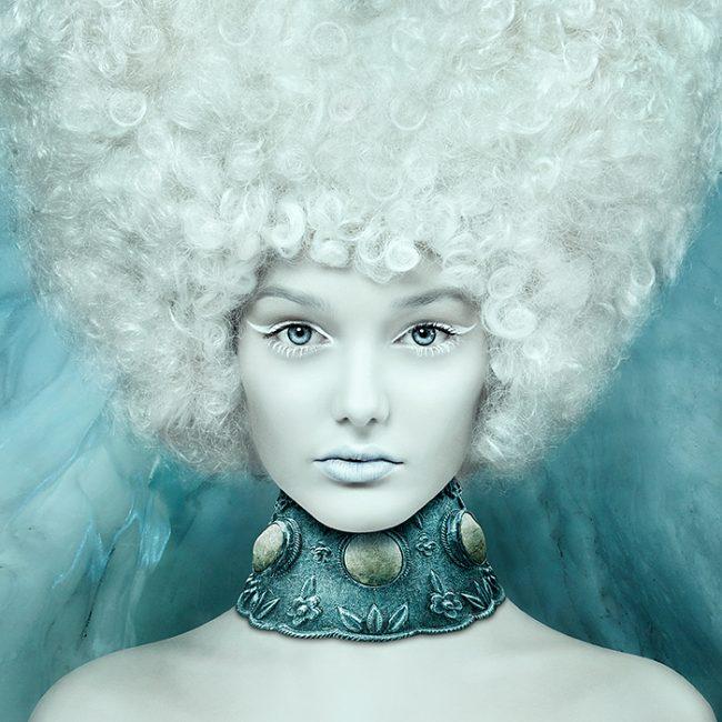 Avant Garde Hair Fashion Photography Retouching Example by Norton Photography and Retouching
