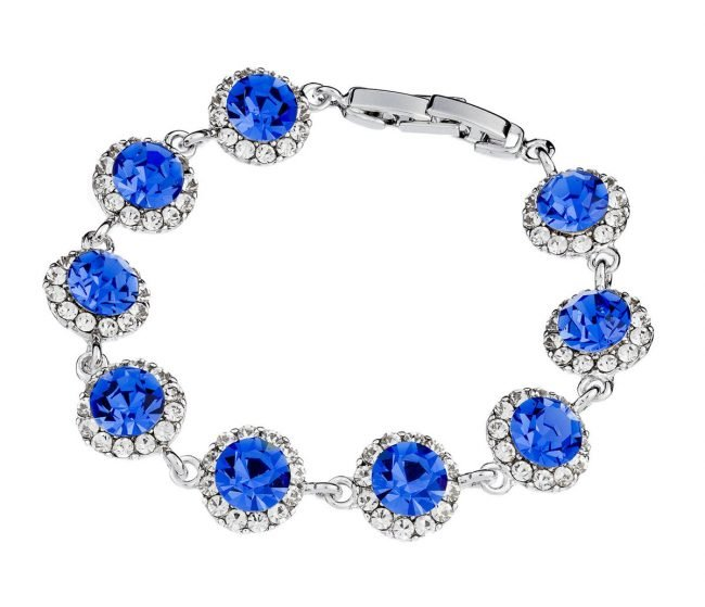 Blue Sapphire Bracelet Jewellery Photograph by Norton Photography and Retouching
