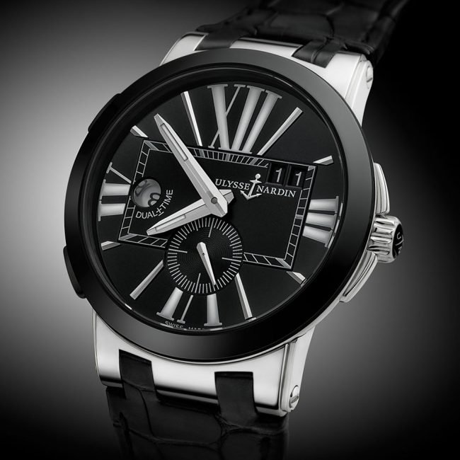 Black and Platinum Ulysse Nardin Watch Photograph by Norton Photography and Retouching