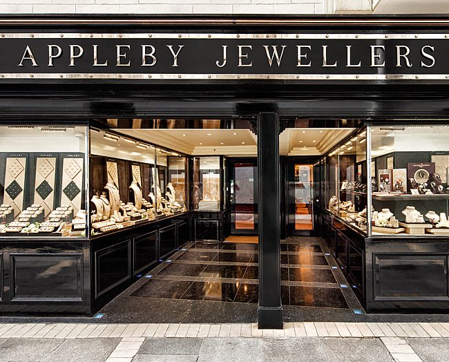 Appleby Jewellers Commercial Storefront Exterior Photo by Norton Photography and Retouching
