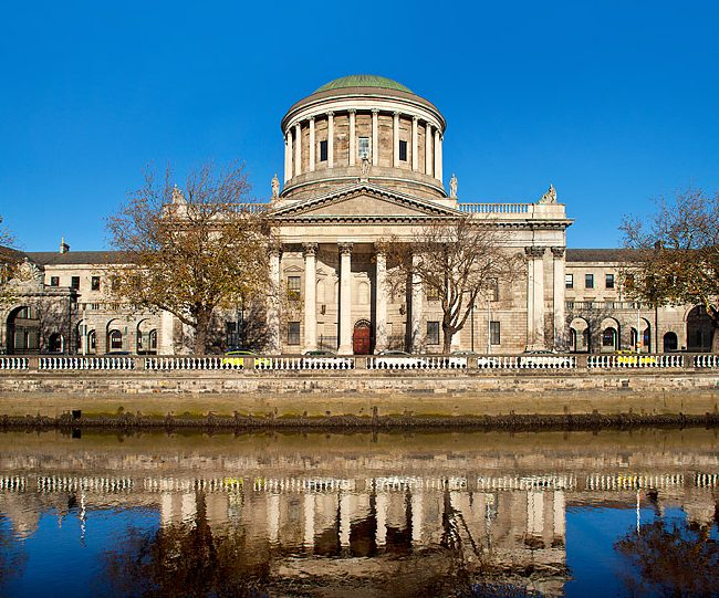 Four Courts Dublin Ireland Architecture Exterior Photo by Norton Photography and Retouching