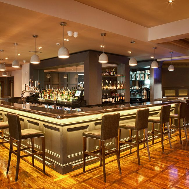 The North Star Hotel Bar Interior Architectural Photo by Norton Photography and Retouching