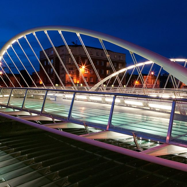 James Joyce Bridge by Architect Santiago Calatrava Photograph by Norton Photography and Retouching