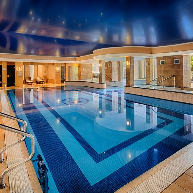 The Royal Hotel Merrill Leisure Club Swimming Pool Photograph by Norton Photography and Retouching