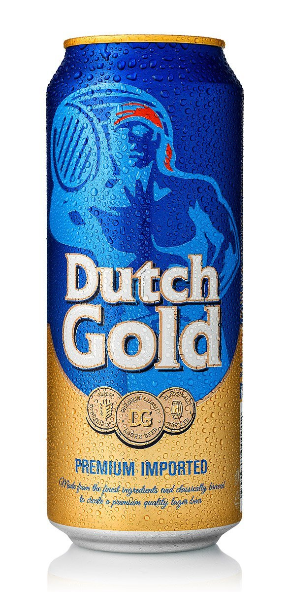 Ice Cold Dew Covered Dutch Gold Beer Can Photograph by Norton Photography and Retouching