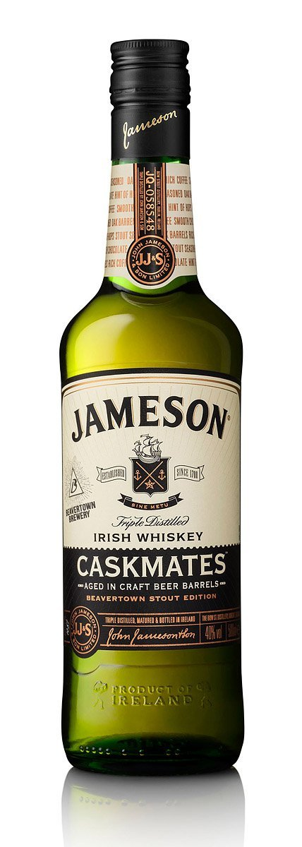Jameson Caskmates Whiskey Bottle Photograph by Norton Photography and Retouching