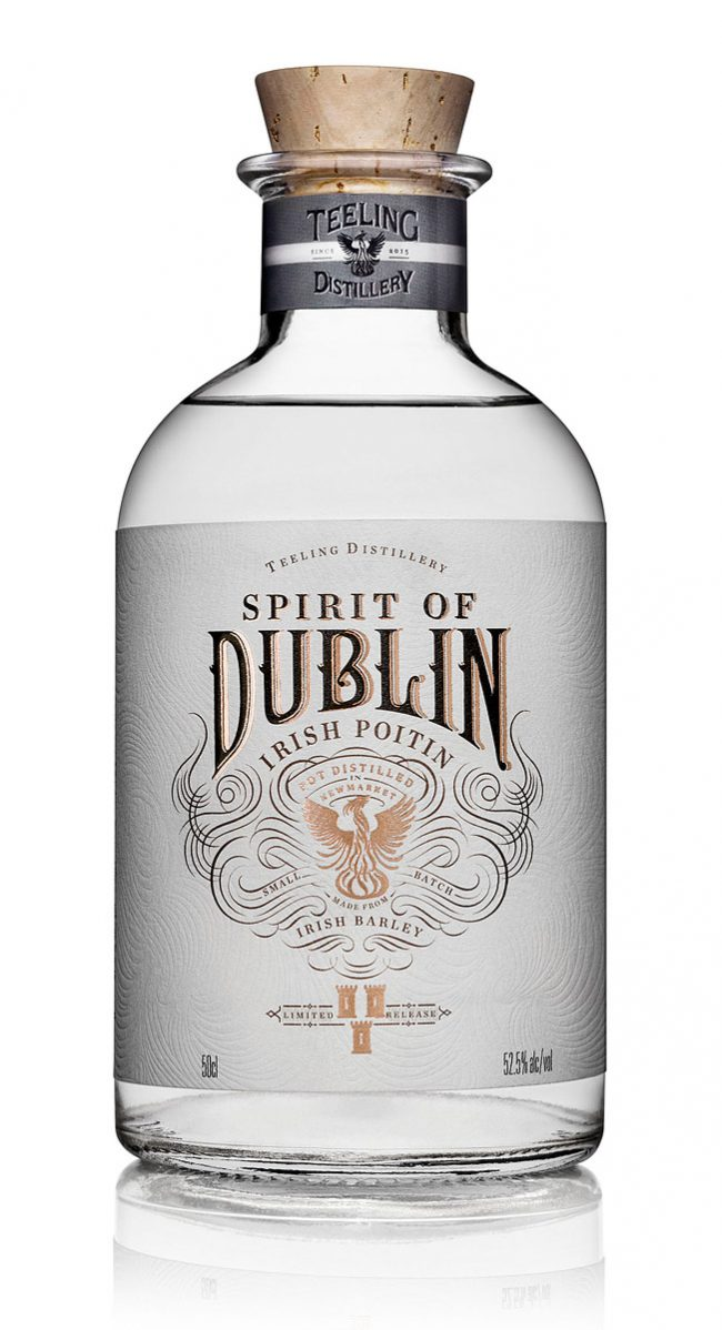 Spirit of Dublin Irish Poitin Bottle Photograph by Norton Photography and Retouching