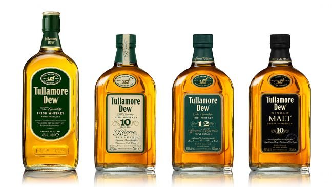 Tullamore Dew Whiskey Bottle Range Photograph by Norton Photography and Retouching