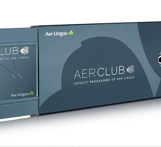 Product Photograph of Aer Lingus Aer Club Package Photograph by Norton Photography and Retouching