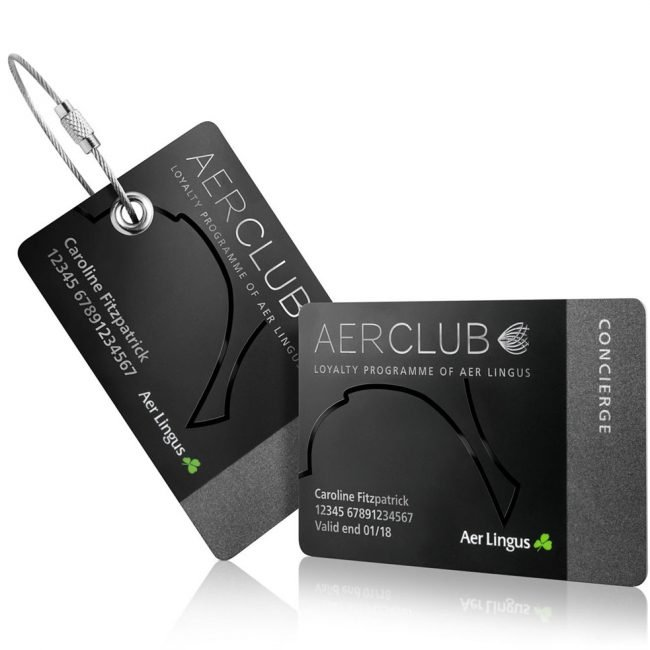 Product Photograph of Aer Club Concierge Cards Photograph by Norton Photography and Retouching