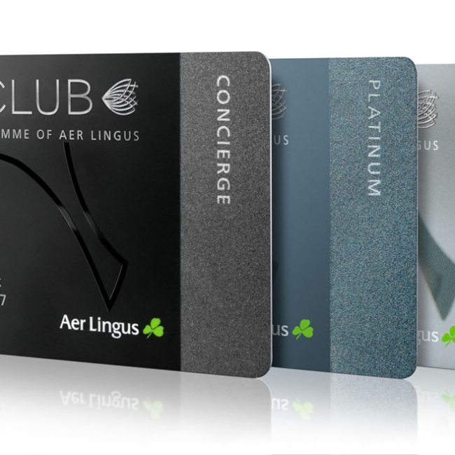 Product Photograph of Aer Lingus Aer Club Loyalty Programme Photograph by Norton Photography and Retouching