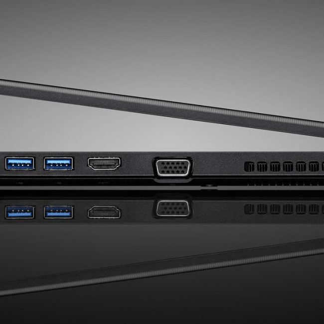 Product Photograph of Toshiba Laptop Ports Photograph by Norton Photography and Retouching