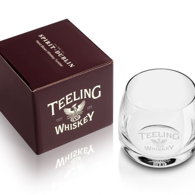 Product Photograph of Teeling Whiskey Glass Tumbler Photograph by Norton Photography and Retouching