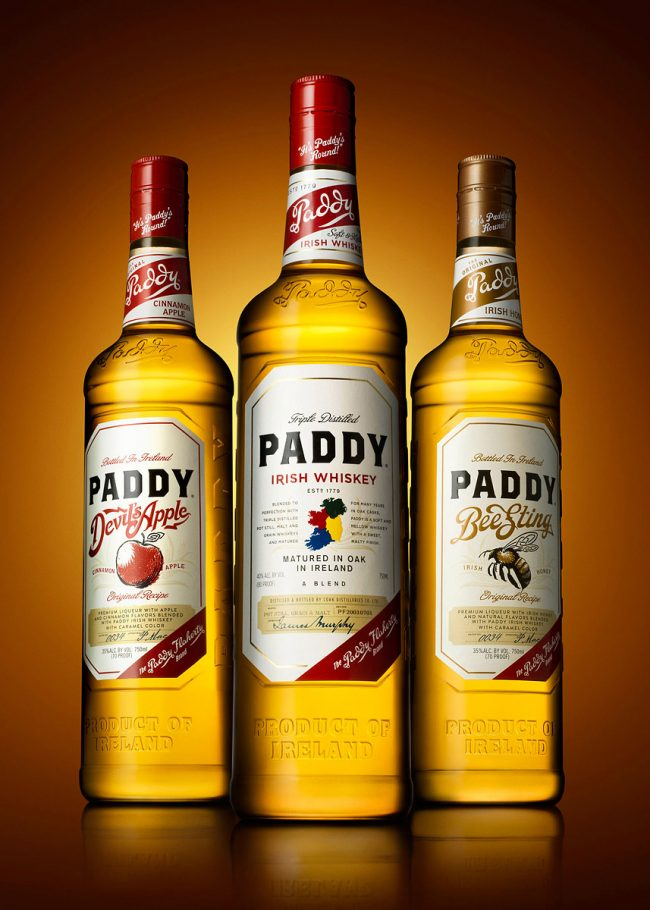 Paddy Whiskey Range Bottle Photograph by Norton Photography and Retouching