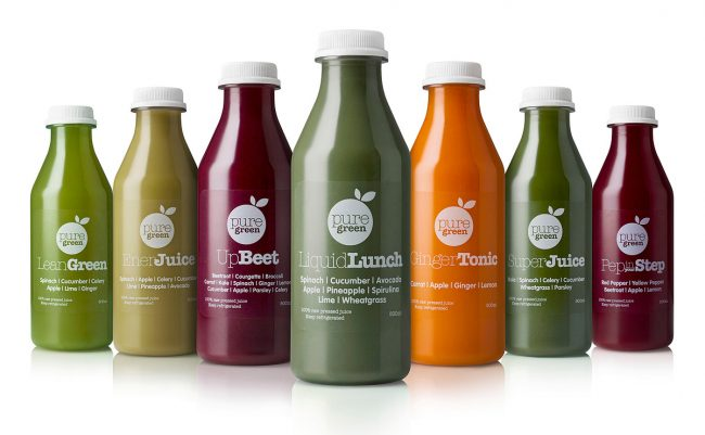 Pure Green Smoothie Juice Range Photograph by Norton Photography and Retouching