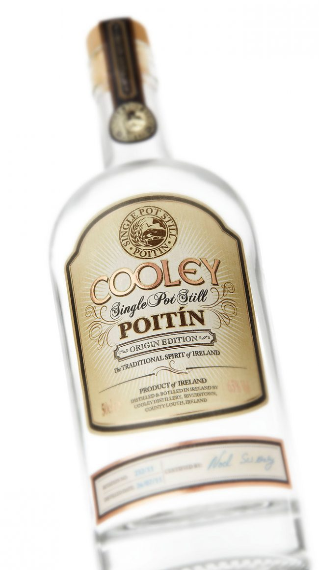 Cooley Poitin Bottle Photograph by Norton Photography and Retouching