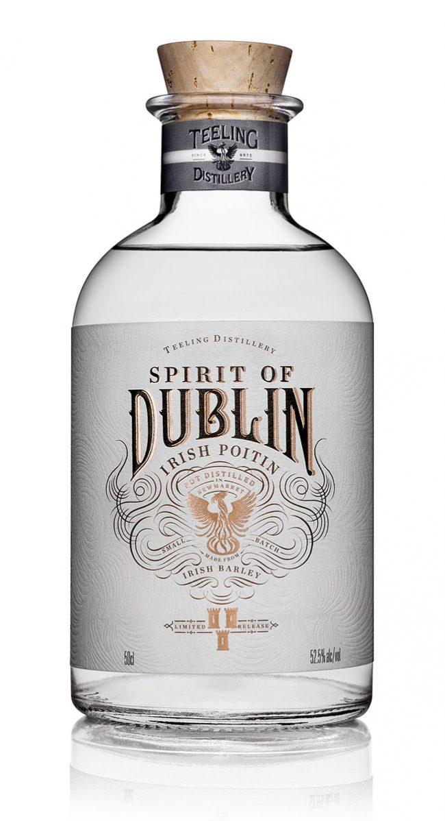 Spirit of Dublin Irish Poitin Bottle Photograph by Norton Photography and Retouching