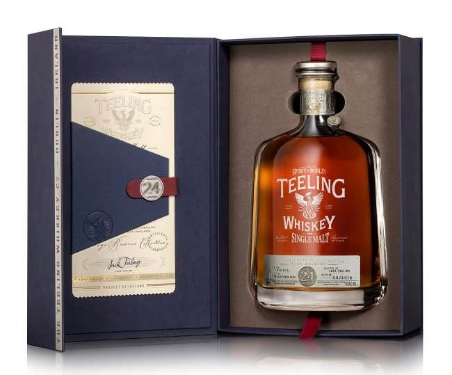 Teeling Whiskey 24 Year Aged Single Malt Photograph by Norton Photography and Retouching