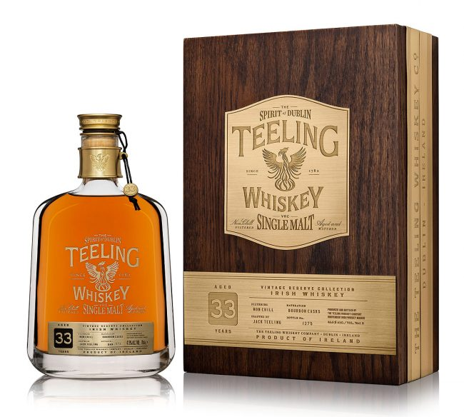 Teeling Whiskey Aged 33 Years Bottle Photograph by Norton Photography and Retouching