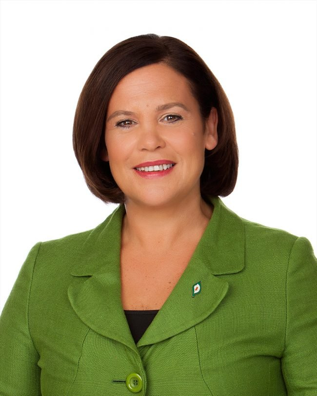 Mary Lou McDonald Sinn Fein Politician Portrait by Norton Photography and Retouching