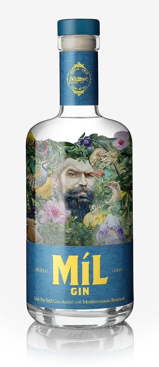 Bottle of Irish Míl Gin